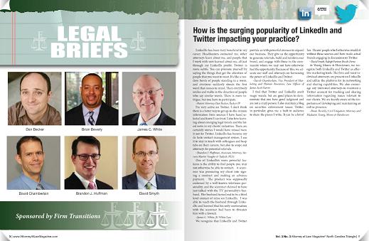 Daniel Becker in Attorney at Law Magazine